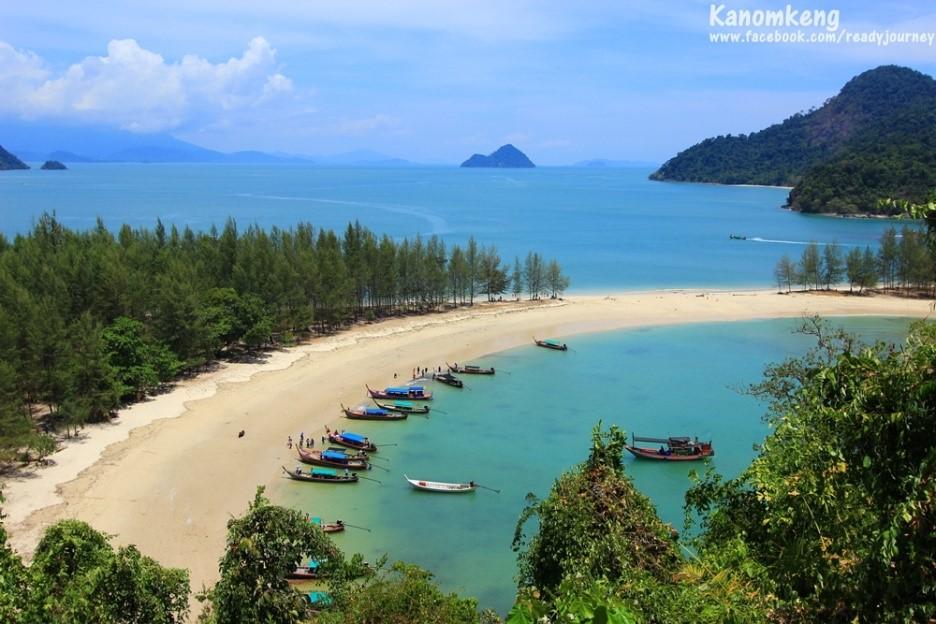 ชวนเที่ยวเกาะเขาควาย ทะเลสวย น้ำใสที่ระนอง