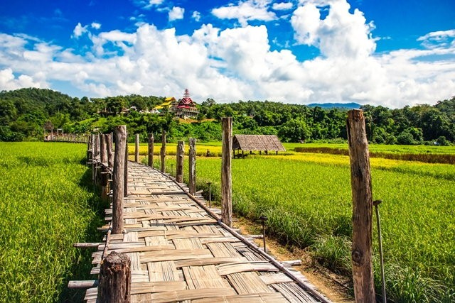 สะพานซูตองเป้ ความงดงามอย่างลงตัวของธรรมชาติและแรงศรัทธาแห่งเมืองสามหมอก